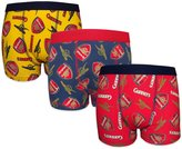 Arsenal F.C. Arsenal FC Official Soccer Gift 3 Pack Boys Crest Boxer Shorts