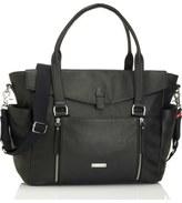 Storksak 'Emma' Leather Diaper Bag