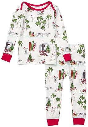 BedHead Pajamas Kids Booboo Long Sleeve Snug Fit Pajama Set (Infant) (Warm Wishes) Kid's Pajama Sets