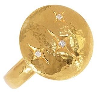 Gurhan Spell 22K Yellow Gold & Diamond Starlight Cocktail Ring