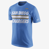 Nike Team Stripe (NFL Chargers) Men's T-Shirt