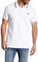K-Swiss Short Sleeve Solid Polo