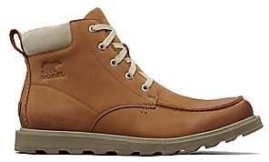 Sorel Men's Men's Madson Moc Toe Waterproof Ankle Boots
