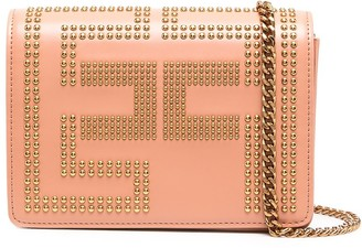 Elisabetta Franchi Stud-Embellished Cross Body Bag