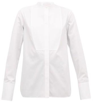 Jil Sander P.m. Bib-front Cotton-poplin Tuxedo Shirt - White