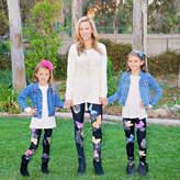 MAYAH KAY FASHION Mayah Kay Fashion Girls Butterfly Leggings