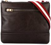 Bally striped strap messenger bag