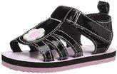 Gerber Black Flower EVA Sandal (Infant)