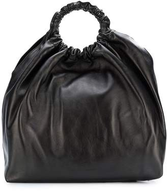The Row Double Circle XL bag
