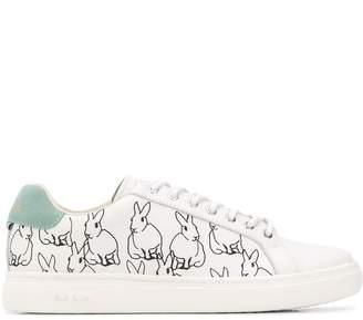 Paul Smith bunny print sneakers