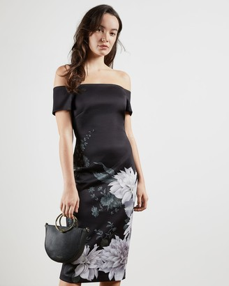Ted Baker Clove Bardot Bodycon Dress