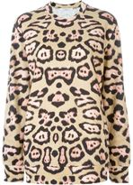 Givenchy leopard print sweatshirt - women - Cotton - S