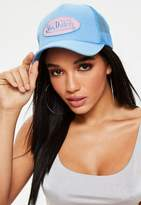 Missguided Von Dutch Blue Mesh Baseball Cap