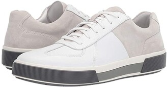 Vince Rogue (White/Horchata Maddox Leather) Men's Shoes
