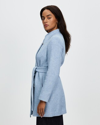 David Lawrence Women's Winter Coats - Macy Twill Coat - Size One Size, 10 at The Iconic