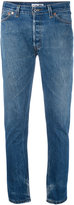 RE/DONE slim-fit jeans - women - Cotton - 27