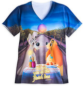 Disney Lady and the Tramp runDisney Performance Tee for Women - Epcot