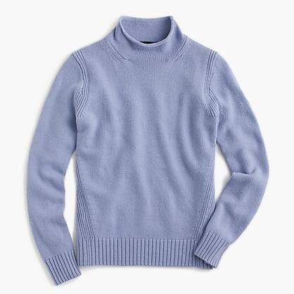 J.Crew The 1999 funnelneck sweater in merino wool