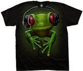 Liquid Blue Men's Frog Rock T-Shirt