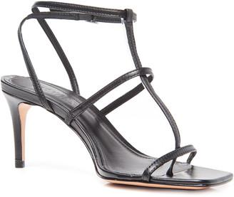 Schutz Ameena Strappy Mid-Heel Sandals
