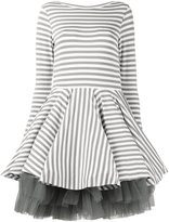 Natasha Zinko striped full skirt dress