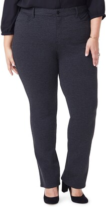NYDJ Marilyn Straight Ponte Knit Pants