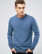 BOSS ORANGE By Hugo Boss Woorth Crew Sweatshirt EmBOSS Logo