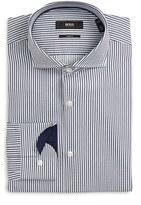 BOSS Men's Slim Fit Stripe Dress Shirt
