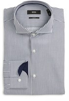 BOSS Slim Fit Stripe Dress Shirt