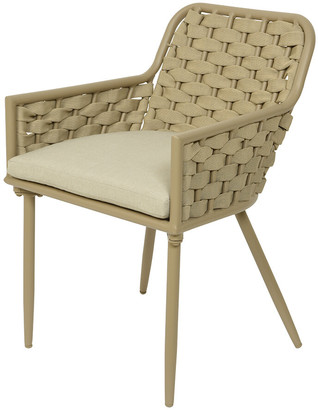 AMARA Outdoors - Outdoor Woven Dining Chair - Sand