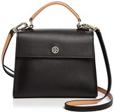 Tory Burch Parker Color Block Small Leather Satchel