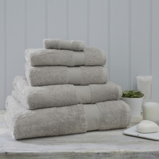 The White Company Luxury Egyptian Cotton Towel, Pearl Grey, Face Cloth