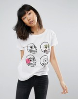 Cheap Monday Personal Skull Have T-Shirt