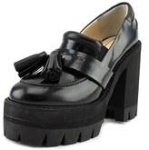 No.21 8621 Open Toe Leather Platform Heel.
