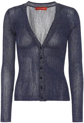 Altuzarra Jackson metallic V-neck cardigan