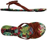 Iron Fist Toe strap sandals