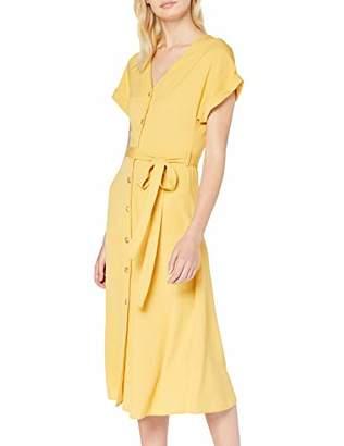 New Look Women's Button Through Dress,8 (Manufacturer Size:8)