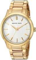 Geoffrey Beene Men's Quartz Metal and Alloy Dress Watch, Color:Gold-Toned (Model: GB8102GD)