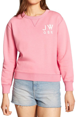 Jack Wills Kempson garment dyed cropped crew