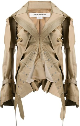 Junya Watanabe Asymmetric Parka Jacket