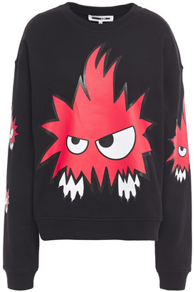 McQ Printed French Cotton-terry Sweatshirt