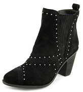 Fergie Dina Round Toe Leather Ankle Boot.