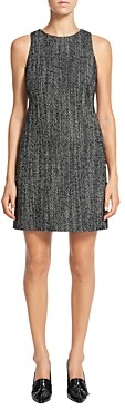 Theory Sleeveless Tweed Dress