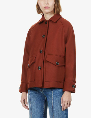 Sessun Alexian wool-blend coat