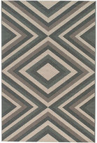 Momeni Baja Zigzag Indoor/Outdoor Rectangular Rug