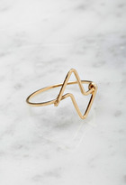 Forever 21 FOREVER 21+ by boe Double Triangular Ring