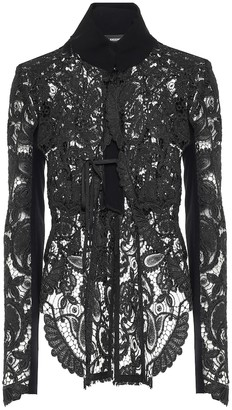 Ann Demeulemeester Lace jacket
