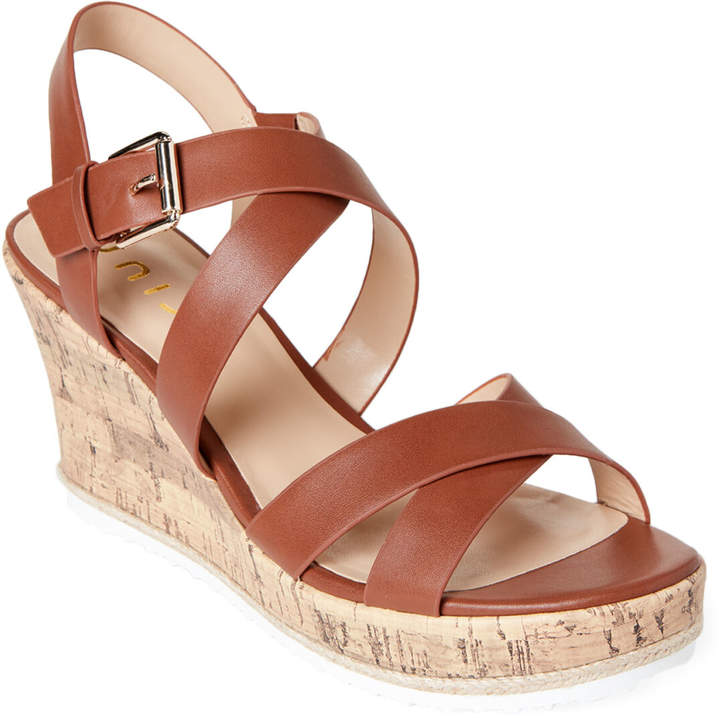 Platform Luggage Strappy Wedge Sansi Sandals VUSzqMp