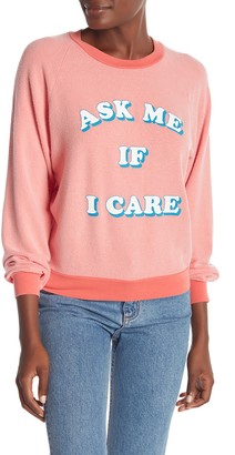 Wildfox Couture Ask Me Junior Sweatshirt