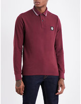 Stone Island Slim-fit Stretch-cotton Polo Shirt
